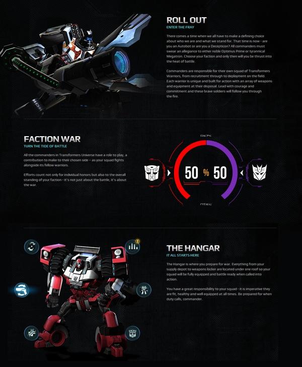 MOBA nền web Transformers Universe đã mở cửa thử nghiệm 3