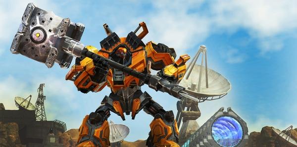 MOBA nền web Transformers Universe đã mở cửa thử nghiệm 1