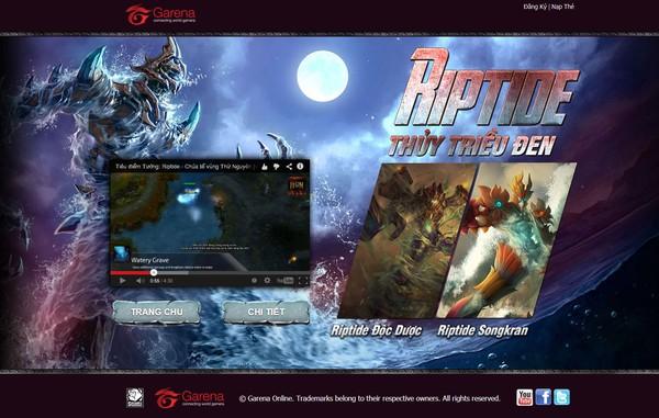 Tên miền DOTA 3 đã được Garena mua cho... Heroes of Newerth 1