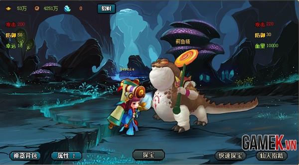Webgame Q-style Sửu Nương Nương được mua về Việt Nam 4