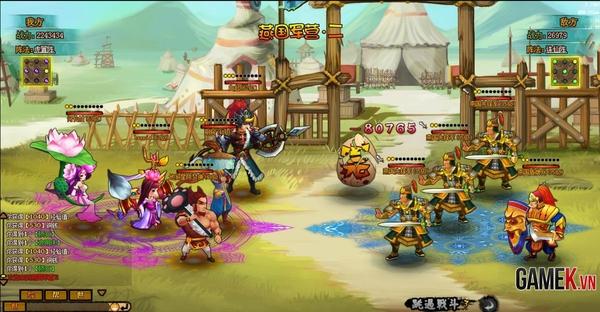 Webgame Q-style Sửu Nương Nương được mua về Việt Nam 2