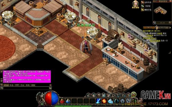 Long Giới Tranh Bá- Game 2D có bối cảnh Châu Âu 1