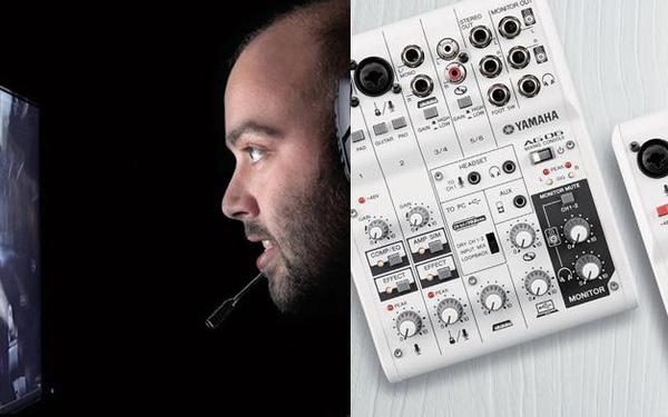 Streamer không thể bỏ qua: Những công nghệ mới nào tích hợp trong Mixer USB Interface của Yamaha?