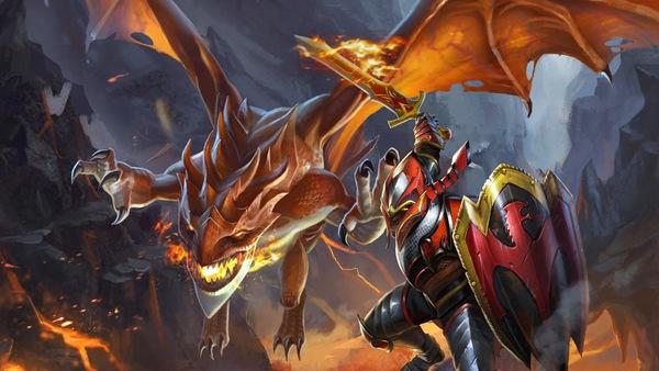 Mini Guide DOTA 2: Dragon Knight - Hiệp sĩ rồng đi mid 1