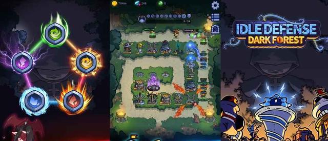 Idle Defense: Dark Forest - game thủ thành pha trộn nhập vai mới ra mắt cực đáng thử - Ảnh 1.