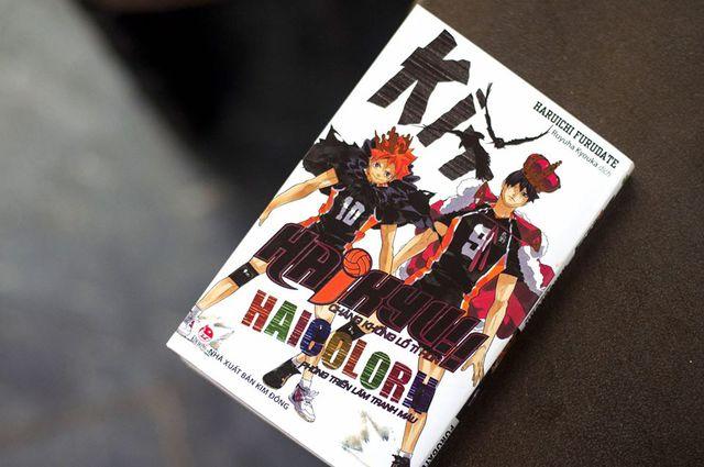 Haikyu Haicolor!! – cuốn mini artbook tranh màu tuyệt đẹp đã đến tay độc giả Việt Nam - Ảnh 1.