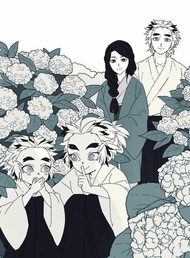 Thảnh thơi khi ngắm những khoảnh khắc bình yên hiếm hoi của các nhân vật trong Kimetsu no Yaiba - Ảnh 4.
