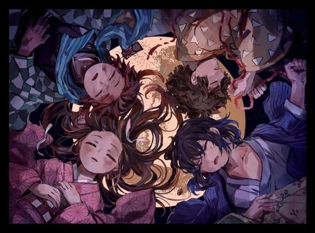 Thảnh thơi khi ngắm những khoảnh khắc bình yên hiếm hoi của các nhân vật trong Kimetsu no Yaiba - Ảnh 14.
