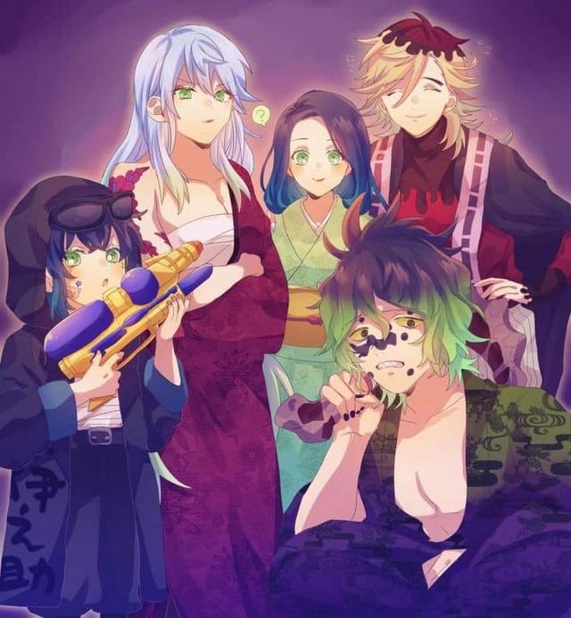 Thảnh thơi khi ngắm những khoảnh khắc bình yên hiếm hoi của các nhân vật trong Kimetsu no Yaiba - Ảnh 16.