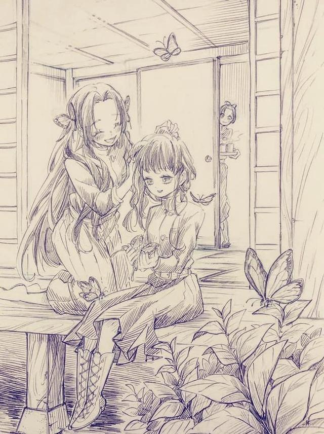 Thảnh thơi khi ngắm những khoảnh khắc bình yên hiếm hoi của các nhân vật trong Kimetsu no Yaiba - Ảnh 18.