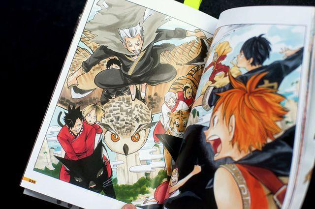 Haikyu Haicolor!! – cuốn mini artbook tranh màu tuyệt đẹp đã đến tay độc giả Việt Nam - Ảnh 5.
