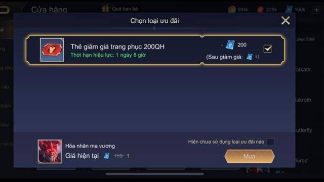 Liên Quân Mobile: Game thủ mua Jinna Ma Vương với giá 1 QH, Garena đòi 20 nghìn cũng khó - Ảnh 3.