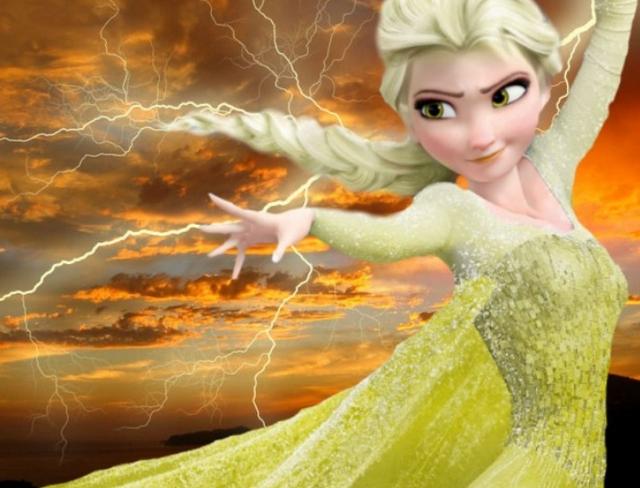Chiêm ngưỡng những phiên bản cực độc của Nữ hoàng băng giá Elsa khiến ai cũng phải mê mẩn - Ảnh 6.