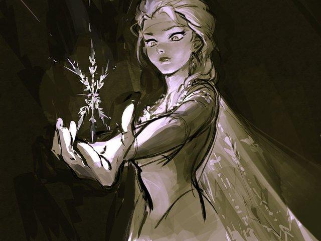 Chị em Nữ hoàng băng giá Elsa trong Frozen lột xác từ diện mạo tới tính cách qua nét vẽ của fan - Ảnh 5.