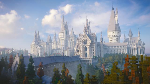 4 năm trời ròng rã, nhóm game thủ đã xây dựng thành công thế giới Harry Potter trong Minecraft - Ảnh 1.