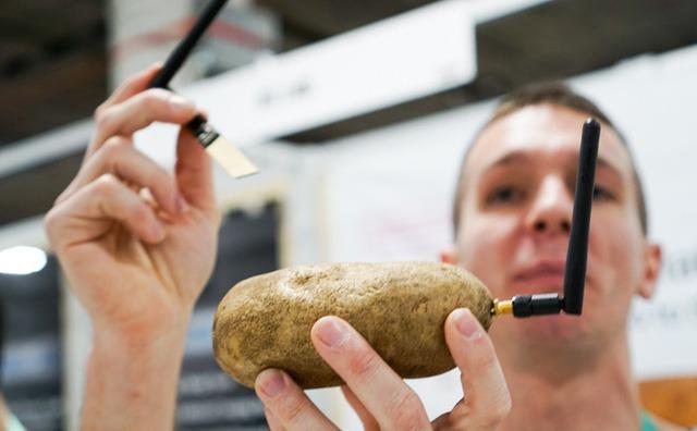 Dạo một vòng CES 2020 bắt gặp startup rao bán khoai tây thông minh - Ảnh 3.