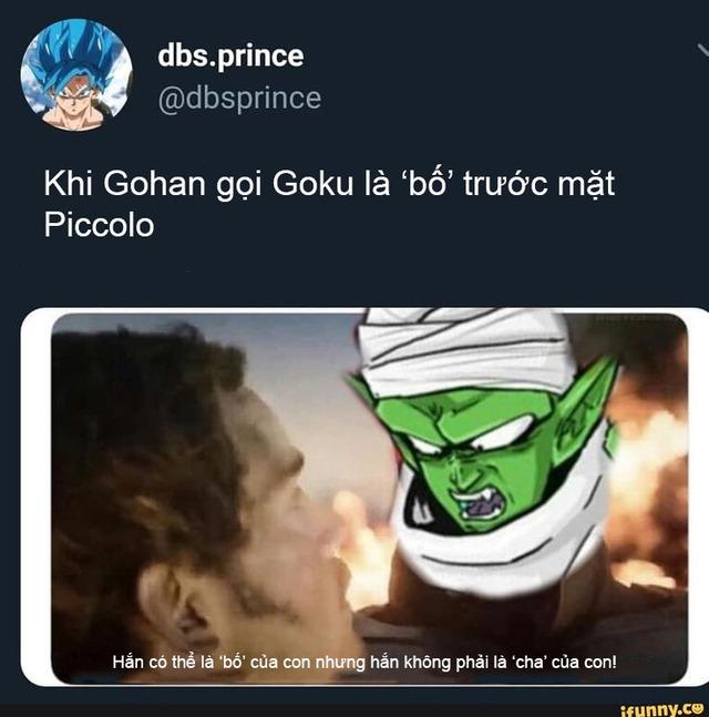 Dragon Ball: Piccolo mới chính là 'cha' của Gohan qua loạt meme chế vô cùng có lý của fan - Ảnh 5.