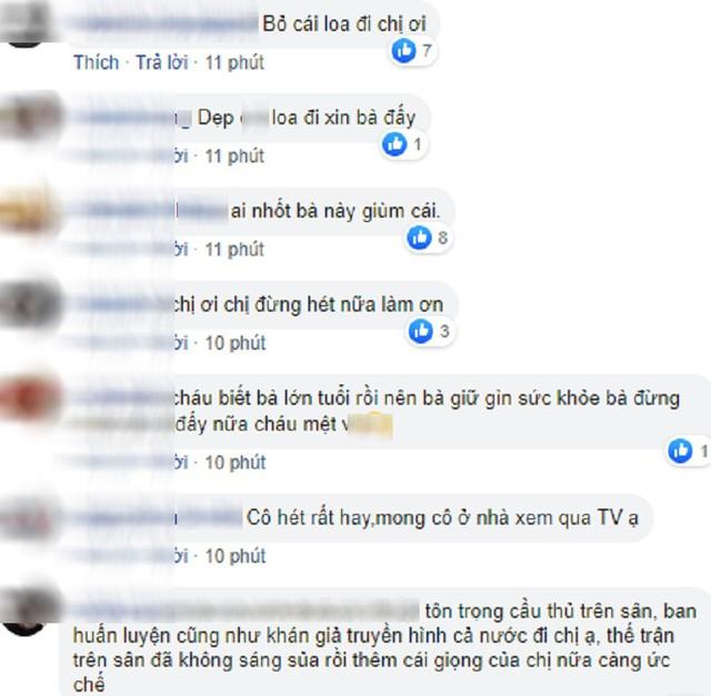 Spam Bay lên trời là em bay ra ngoài đau đầu nhức óc, nữ CĐV bị cộng đồng mạng tổng tấn công Facebook cá nhân - Ảnh 3.