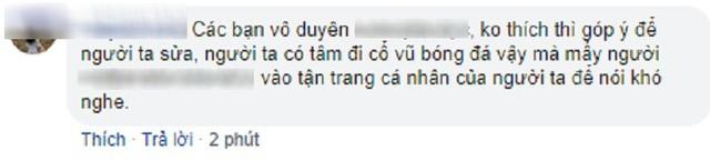 Spam Bay lên trời là em bay ra ngoài đau đầu nhức óc, nữ CĐV bị cộng đồng mạng tổng tấn công Facebook cá nhân - Ảnh 4.
