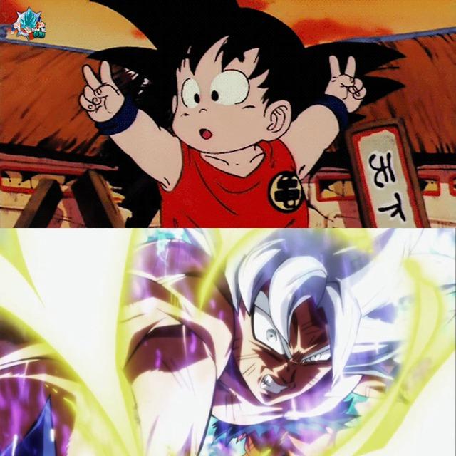 Tết đến xuân về, nhìn lại 1 lượt Goku và dàn nhân vật Dragon Ball đã dậy thì thành công như thế nào! - Ảnh 1.