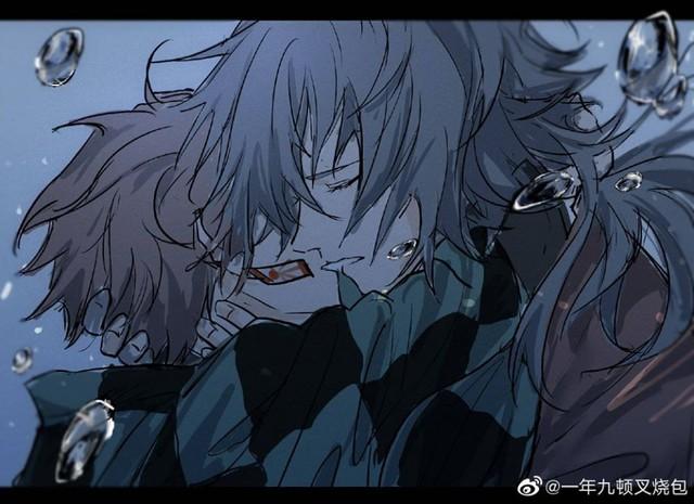 Kimetsu no Yaiba: Thủy trụ và Tanjirou bất ngờ được fan ghép đôi, anh anh em em cũng khá hợp - Ảnh 7.