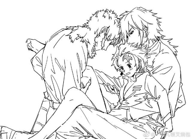 Kimetsu no Yaiba: Thủy trụ và Tanjirou bất ngờ được fan ghép đôi, anh anh em em cũng khá hợp - Ảnh 8.