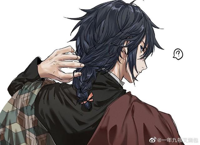 Kimetsu no Yaiba: Anh Đụt Tomioka Giyuu hóa soái ca lạnh lùng khiến chị em muốn rụng trứng - Ảnh 4.