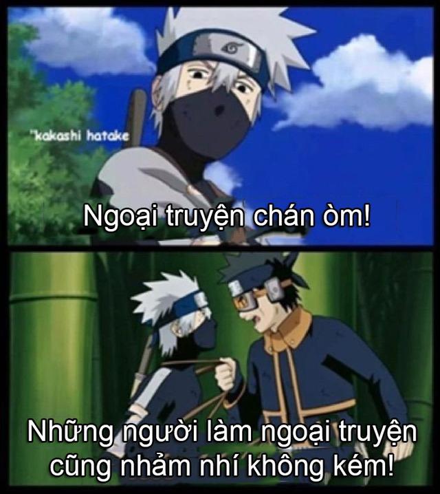 Phần ngoại truyện đông đảo và hung hãn của Naruto bị fan ngứa mắt đến mức chế meme nhiều như lá mùa thu - Ảnh 2.