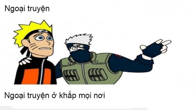 Phần ngoại truyện đông đảo và hung hãn của Naruto bị fan ngứa mắt đến mức chế meme nhiều như lá mùa thu - Ảnh 3.