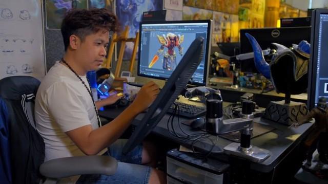 Có thể bạn chưa biết: Trang phục siêu hot Jax Loạn Thế Thần Binh được thiết kế bởi một họa sĩ người Việt - Ảnh 2.