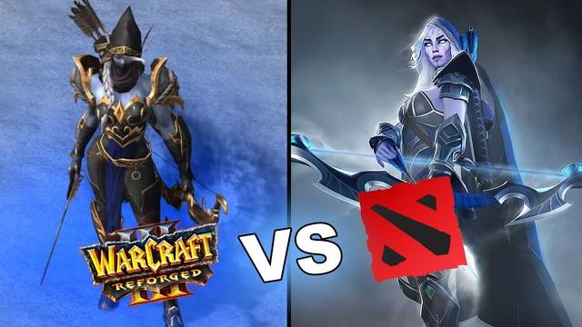 Graphic comparison between DOTA 2 and Warcraft 3 DotA 4K remake - Photo 1.
