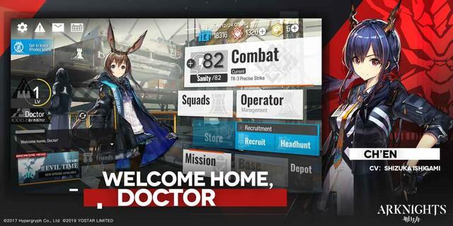 Arknights - Siêu phẩm game nhập vai thủ thành phong cách Anime đã có bản tiếng Anh - Ảnh 1.