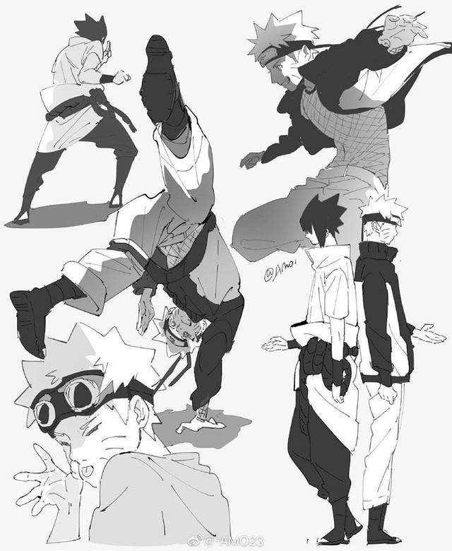 Naruto và Sasuke, tình bạn trên mức bè và quan hệ đối thủ giúp nhau cùng mạnh hơn - Ảnh 6.