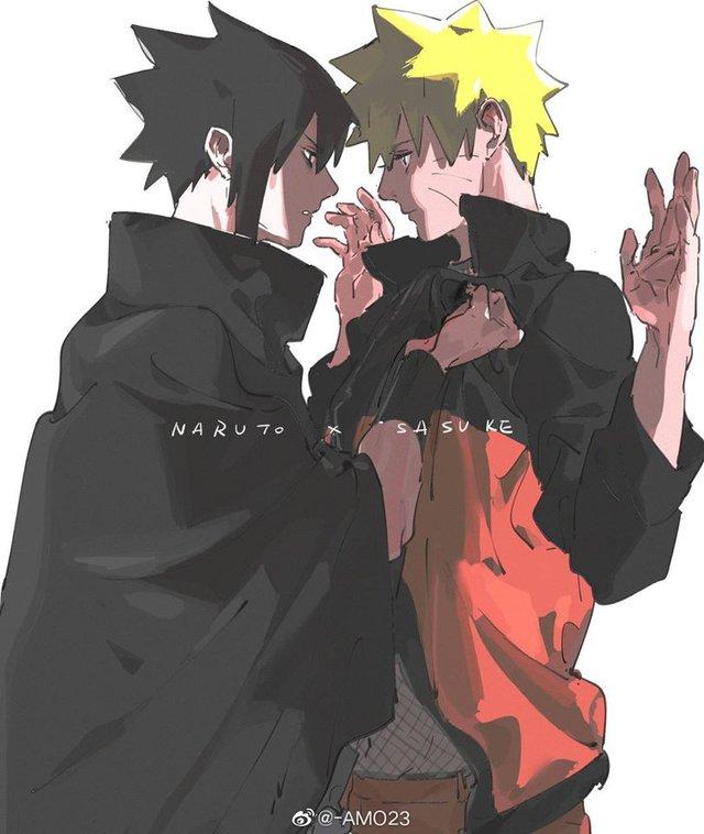 Naruto và Sasuke, tình bạn trên mức bè và quan hệ đối thủ giúp nhau cùng mạnh hơn - Ảnh 13.