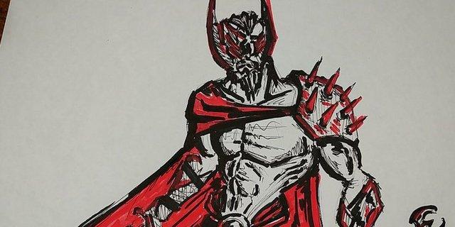 Biệt đội Avengers bất ngờ hóa phản diện độc ác trong loạt ảnh fan art chất lừ - Ảnh 7.
