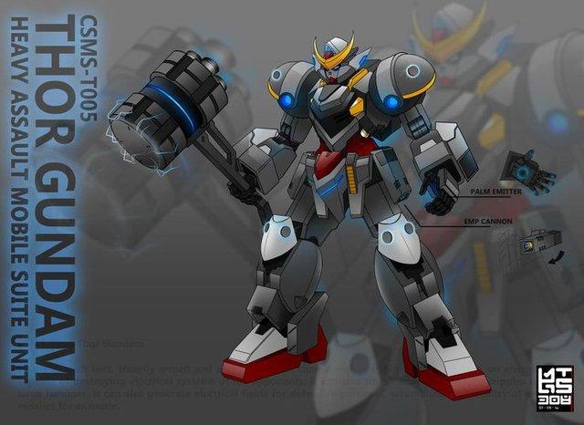 Lác mắt trước 10 mẫu thiết kế Gundam cực đỉnh đến từ các fan hâm mộ, đảm bảo bạn sẽ thích mê cho mà xem - Ảnh 7.