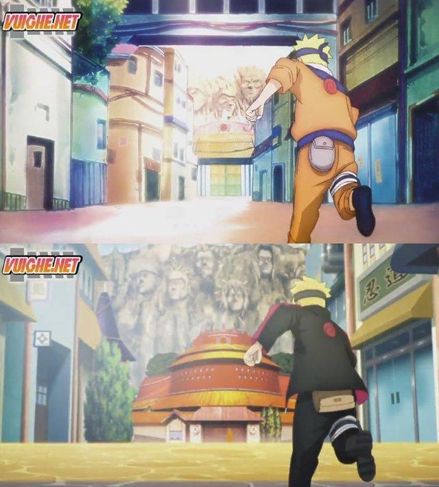 Boruto: Những khoảnh khác đáng nhớ của 2 cha con Naruto từ nhỏ đến lớn khiến fan rưng rưng nước mắt - Ảnh 1.