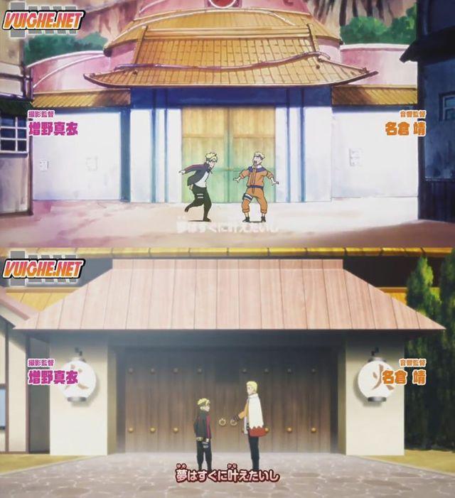 Boruto: Những khoảnh khác đáng nhớ của 2 cha con Naruto từ nhỏ đến lớn khiến fan rưng rưng nước mắt - Ảnh 2.