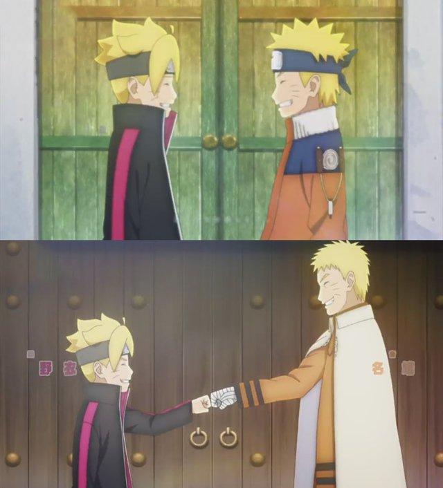 Boruto: Những khoảnh khác đáng nhớ của 2 cha con Naruto từ nhỏ đến lớn khiến fan rưng rưng nước mắt - Ảnh 3.