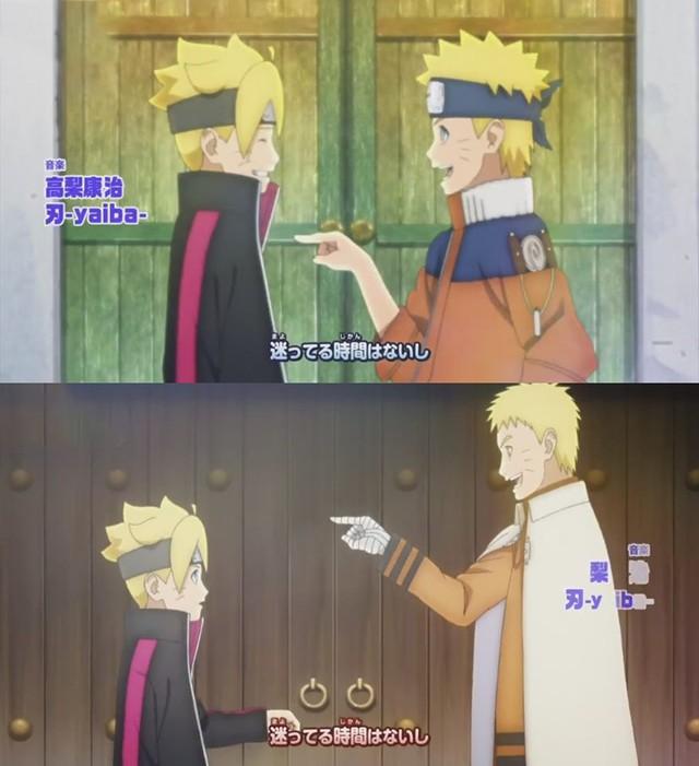 Boruto: Những khoảnh khác đáng nhớ của 2 cha con Naruto từ nhỏ đến lớn khiến fan rưng rưng nước mắt - Ảnh 4.