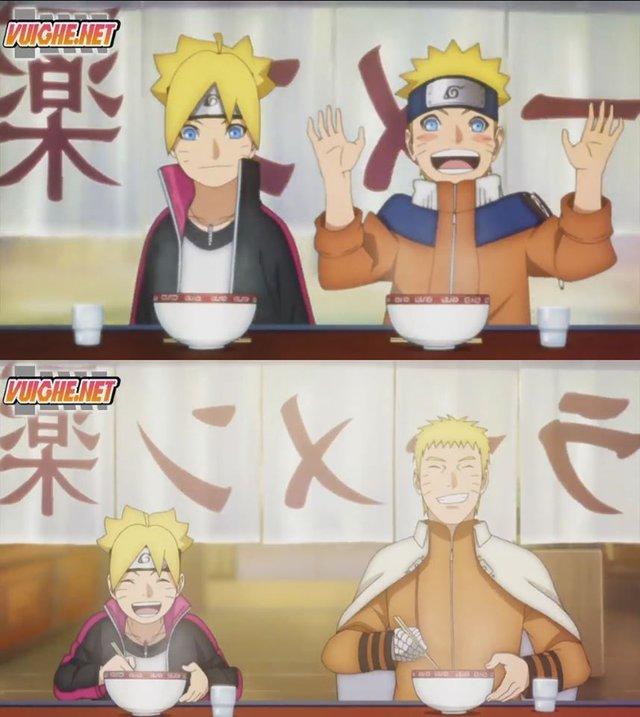 Boruto: Những khoảnh khác đáng nhớ của 2 cha con Naruto từ nhỏ đến lớn khiến fan rưng rưng nước mắt - Ảnh 6.
