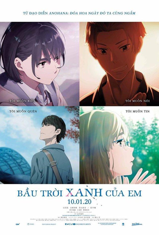 Sora no Aosa wo Shiru Hito yo – Her blue sky: Bộ anime đáng xem dịp Tết 2020? - Ảnh 3.