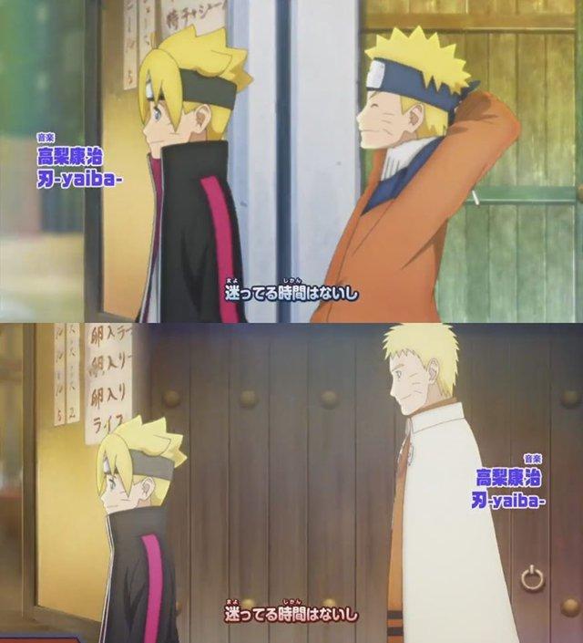 Boruto: Những khoảnh khác đáng nhớ của 2 cha con Naruto từ nhỏ đến lớn khiến fan rưng rưng nước mắt - Ảnh 5.