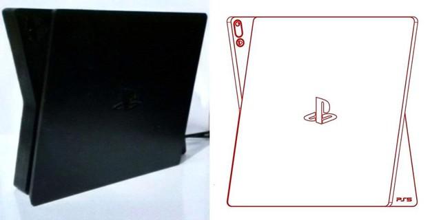 Rò rỉ hình ảnh được cho là thiết kế cuối cùng của PS5, khác hoàn toàn với ảnh PS5 Dev kit trước đó - Ảnh 1.