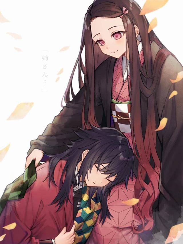Kimetsu no Yaiba: Hóa ra anh Đụt và em gái quốc dân Nezuko lại là cặp đôi dễ thương phết - Ảnh 1.