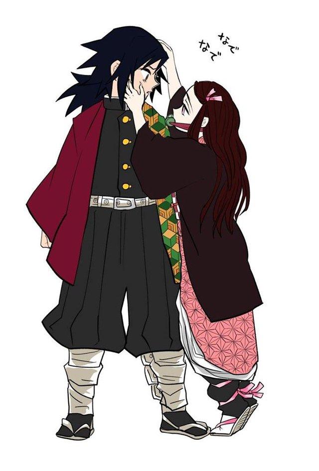 Kimetsu no Yaiba: Hóa ra anh Đụt và em gái quốc dân Nezuko lại là cặp đôi dễ thương phết - Ảnh 3.