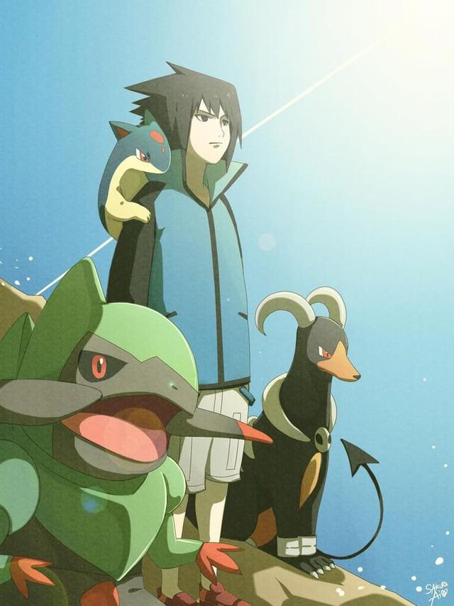 Khi các ninja trong Naruto trở thành huấn luyện Pokemon thì sẽ chất như thế nào? - Ảnh 5.