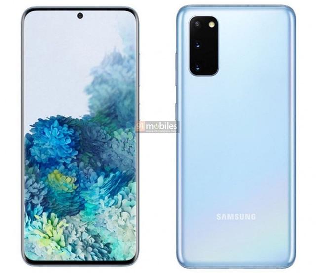Đây là ảnh render chính thức của Galaxy S20, Galaxy S20+ và Galaxy S20 Ultra - Ảnh 1.