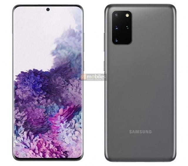 Đây là ảnh render chính thức của Galaxy S20, Galaxy S20+ và Galaxy S20 Ultra - Ảnh 3.