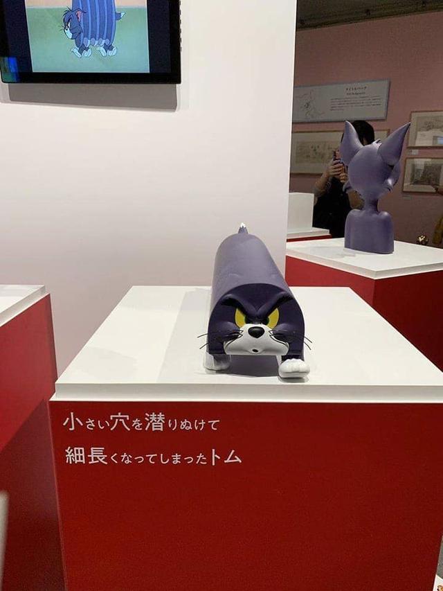 Năm con chuột, cùng ngắm triển lãm độc đáo về Tom và Jerry đầu tiên trên thế giới - Ảnh 3.